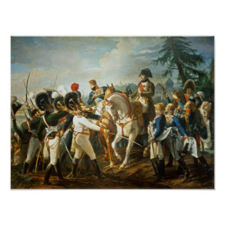 Napoleon and the Bavarian and Wurttemberg Poster