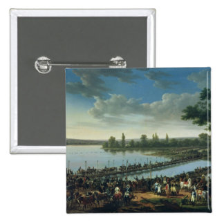 Napoleon antes de la batalla de Wagram Pins