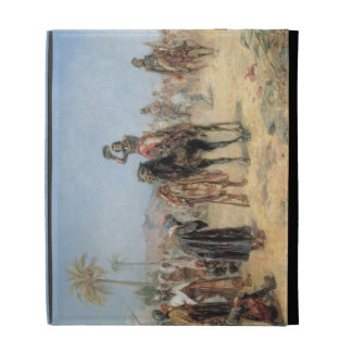 Napoleon Arriving at an Egyptian Oasis (oil on can iPad Folio Covers