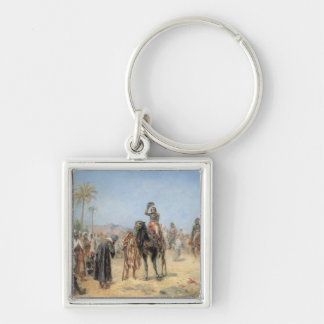 Napoleon Arriving at an Egyptian Oasis (oil on can Keychain