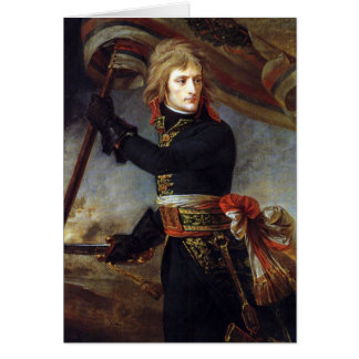 Napoleon at Arcole painted by Antoine-Jean Gros Card