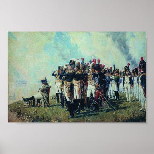 Napoleon at Borodino Poster