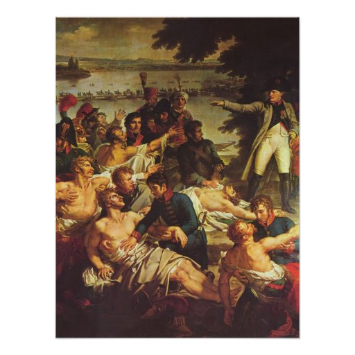 Napoleon at Essling Poster