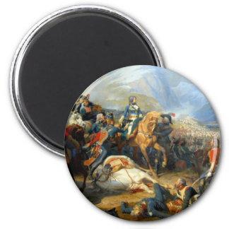 Napoleon at Rivoli 2 Inch Round Magnet
