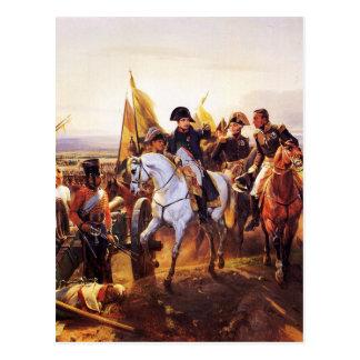 Napoleon at the battle of Friedland Horace Vernet Postcard