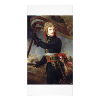 Napoleon at the Pont d Arcole-ca 1801 A-J Gros Photo Card Template