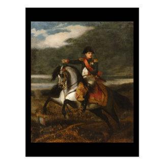Napoleon at Wagram Postcard
