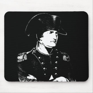 Napoleon -- Black and White Mousepads