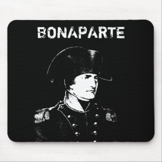 Napoleon -- Blanco y negro Alfombrilla De Raton
