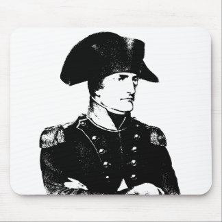 Napoleon -- Blanco y negro Tapete De Ratón