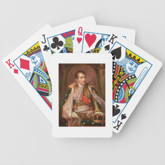 Napoleon Bonaparte (1769-1821), as King of Italy, Bicycle Playing Cards