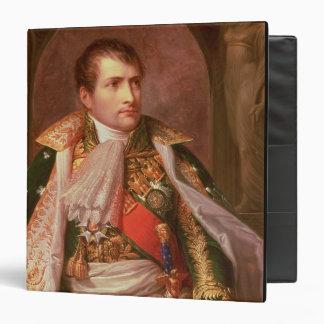 """Napoleon Bonaparte (1769-1821), como rey de Carpeta 1 1/2"""""""
