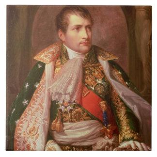Napoleon Bonaparte (1769-1821), como rey de Italia Azulejo Cuadrado Grande