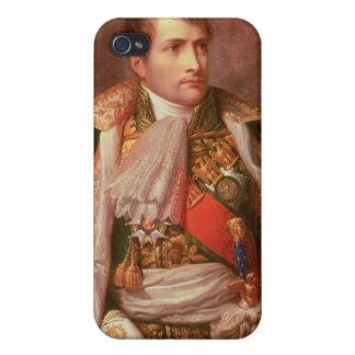 Napoleon Bonaparte (1769-1821), como rey de Italia iPhone 4 Funda
