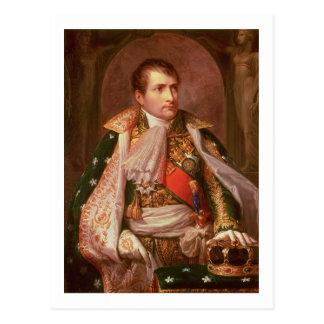 Napoleon Bonaparte (1769-1821), como rey de Postales