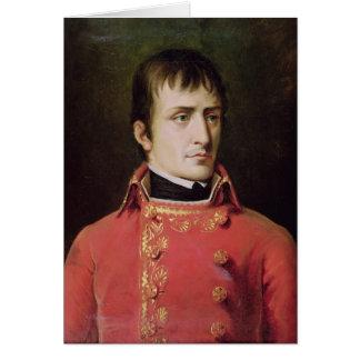 Napoleon Bonaparte  1796 Greeting Card