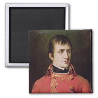 Napoleon Bonaparte 1796 Imán Cuadrado