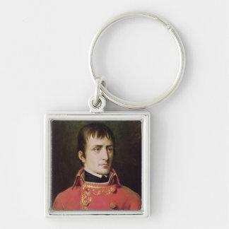 Napoleon Bonaparte  1796 Silver-Colored Square Keychain