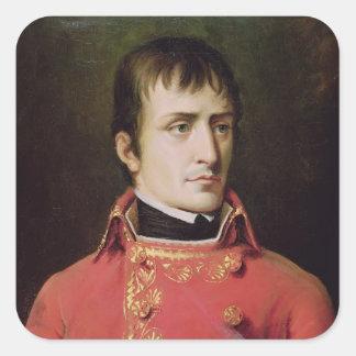Napoleon Bonaparte  1796 Square Sticker