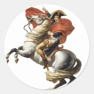 Napoleon Bonaparte  1800 Classic Round Sticker