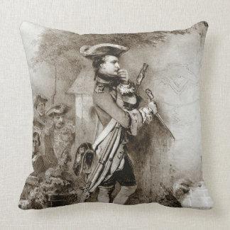 Napoleon Bonaparte 1826 Throw Pillow