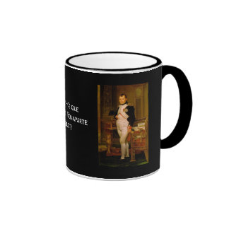 Napoleon Bonaparte 2 Tazas De Café