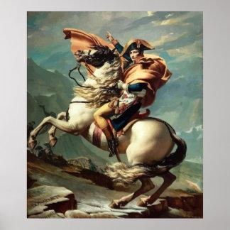 Napoleon Bonaparte a caballo Póster