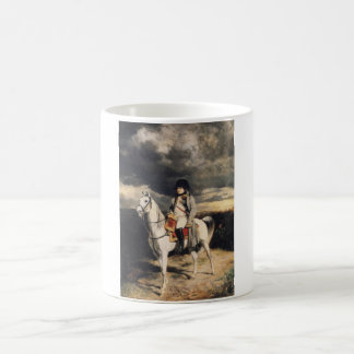 Napoleon Bonaparte a caballo Taza
