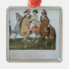 Napoleon Bonaparte  and the Varsovian Sentry Metal Ornament