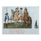 Napoleon Bonaparte  and the Varsovian Sentry Postcard