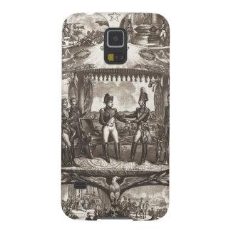 Napoleon Bonaparte and Tsar Alexander I at Tilsit Galaxy S5 Case