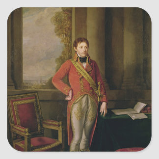 Napoleon Bonaparte  as First Consul, 1799-1805 Square Sticker