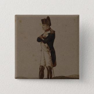Napoleon Bonaparte as First Consul Pinback Button