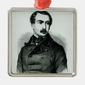 Napoleon Bonaparte as Representative of People Metal Ornament