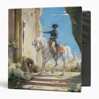 Napoleon Bonaparte 3 Ring Binder