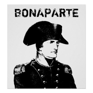 Napoleon Bonaparte -- Black and White Poster