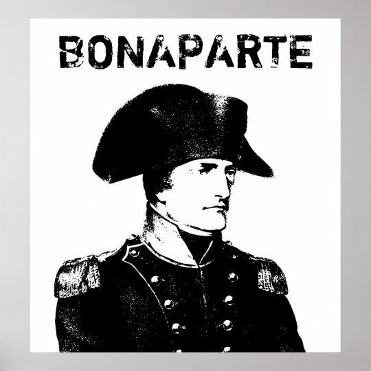 Napoleon Bonaparte -- Black and White Poster