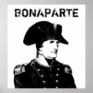 Napoleon Bonaparte -- Blanco y negro Póster