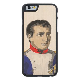 Napoleon Bonaparte Carved® Maple iPhone 6 Slim Case