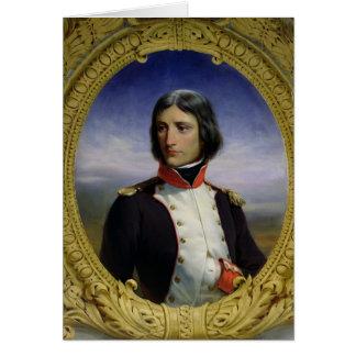 Napoleon Bonaparte como Teniente Coronel Tarjeta De Felicitación