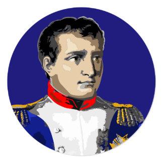 Napoleon Bonaparte Dramatic Portait French History Card