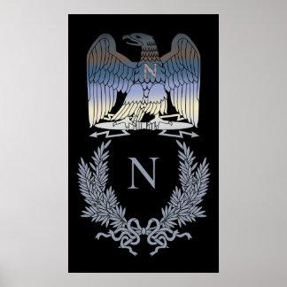 Napoleon Bonaparte Eagle Emblem Poster