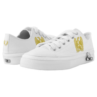 Napoleon Bonaparte Emblem Low-Top Sneakers
