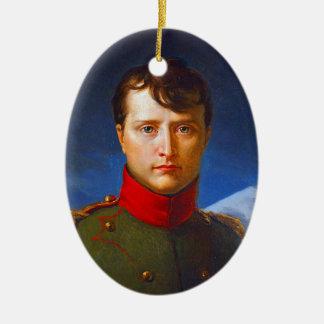 napoleon bonaparte emperor ceramic ornament