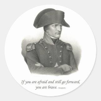 Napoleon Bonaparte Etiquetas Redondas