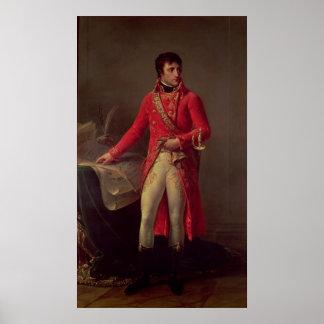 Napoleon Bonaparte  First Consul, 1802 Poster