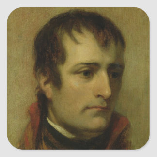 Napoleon Bonaparte  First Consul, 1802 Square Sticker