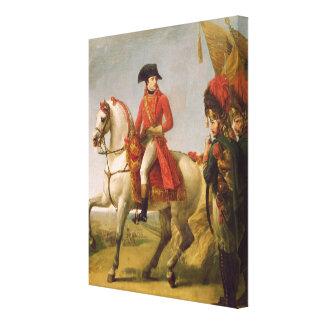 Napoleon Bonaparte  First Consul Canvas Print