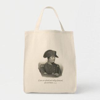 Napoleon Bonaparte Grocery Tote Bag