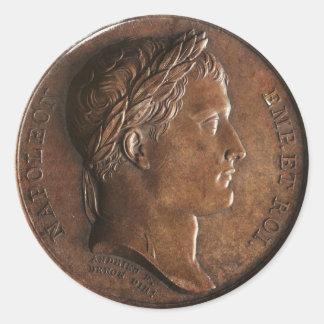 Napoleon Bonaparte Medal Sticker